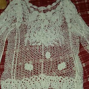 Tops - Ladies Plus size 1X Lace top